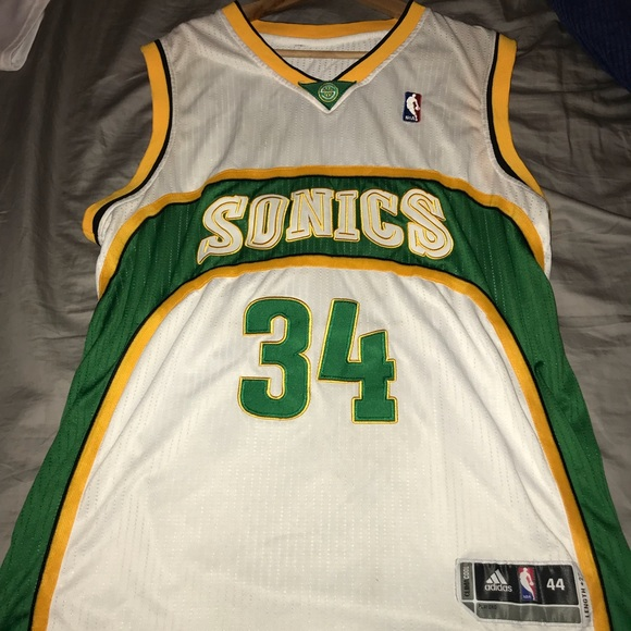 adidas Other - Adidas Ray Allen Seattle Super Sonics Jersey be3d17400